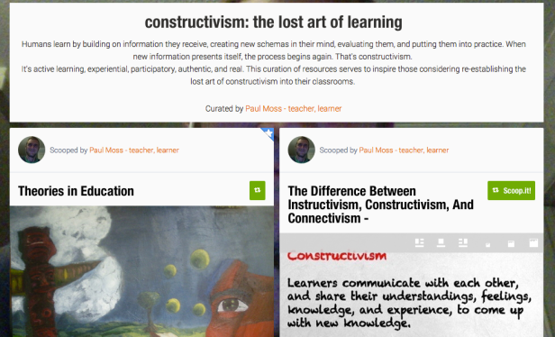 http://www.scoop.it/t/constructivism-the-lost-art-of-learning?_tmc=K5s3mu8YCjBJPYG4BT2kpWrsa6_k9UqTXlKK2GwAdBY